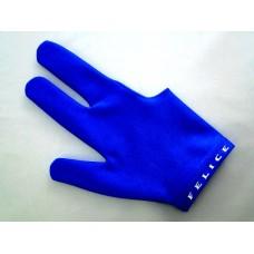 淡藍色.N.I.C.進口萊卡伸縮布三指手套.SL012B