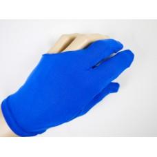 淡藍色彈性布料.三指手套.DSL-EQP-10B