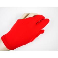紅色彈性布料.三指手套.DSL-EQP-10R