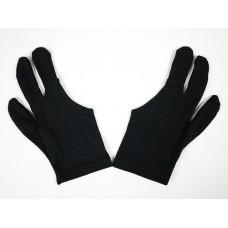 黑色彈性OP布料一雙.三指手套.DSL-EQP-13DK