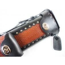 6孔.Vincitorc.竹編咖啡黑雙色進口高級球筒.LC24-04