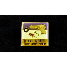胸針.槍與玫瑰.DSLATR-WER-E3910
