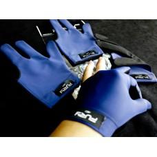 藍色全指.FURY原裝進口萊卡伸縮布三指手套.FURY-FBL3