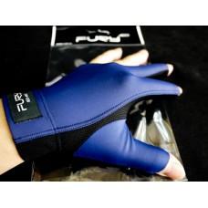 藍色半指.FURY原裝進口萊卡伸縮布三指手套.FURY-HBL3