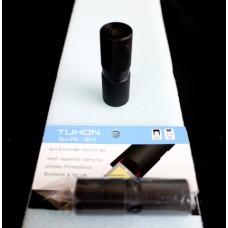 黑塑鋼.TUHORN.2合1刺針皮頭壓.TUHORN-2N1